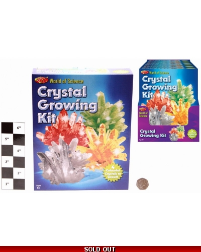 6 x Large Crystal Growing Kits