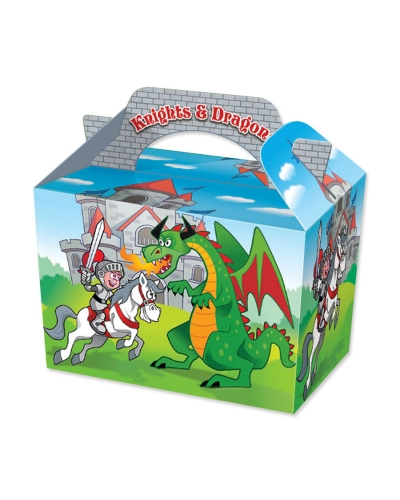 50 x Knights & Dragons Food Boxes