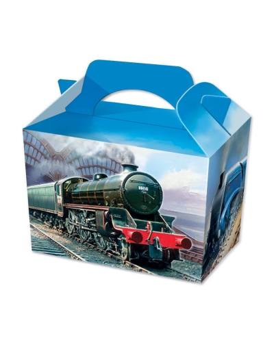 50 x Steam Train Food Boxes