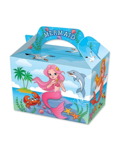 50 x Mermaid Food Boxes