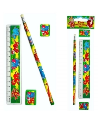 Image of 24 x Jungle Animal Stationery Sets