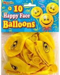 Image of 24 x Smiley Face Balloons 10pk