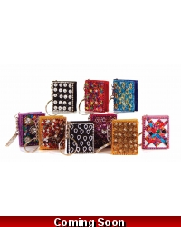 Image of 48 x Jewel Notepad Key Rings