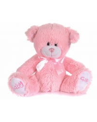 Image of 6 x Plush Luxury Baby Girl Pink Teddy Bears 8