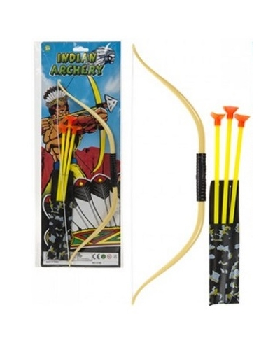 12 x Indian Bow & 3 Arrows Play Sets