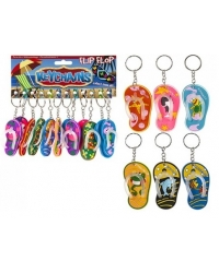 Image of 12 x Flip Flop Keychains