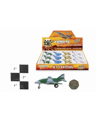 12 x Diecast Fighter Planes