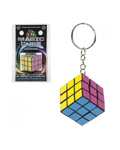 24 x Magic Cube Key Chains