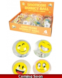 Image of 12 x Flashing Emoji Water Balls 75mm