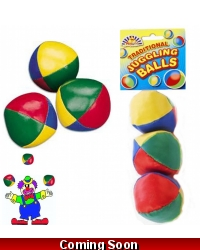 Image of 24 x Traditional Juggling Balls 3pk