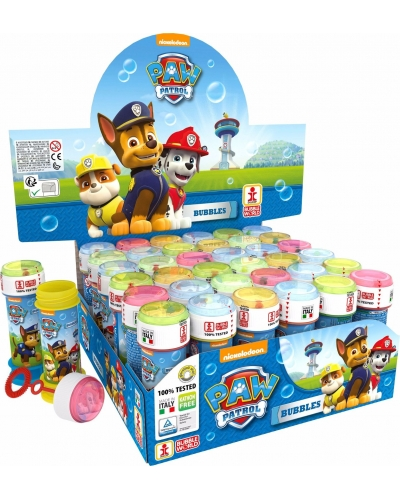 36 x Paw Patrol Bubble Tubs