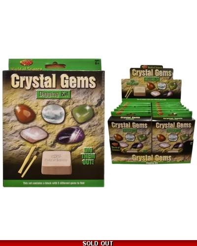 12 x Gemstone Dig Out Kits