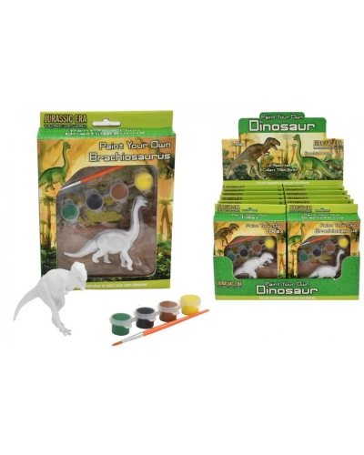 12 x Paint Your Own Dinosaurs