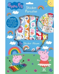 Image of 12 x Peppa Pig Sticker Paradise Sets