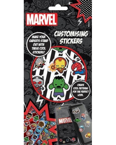 12 x Marvel Avengers Customising Sticker Sets