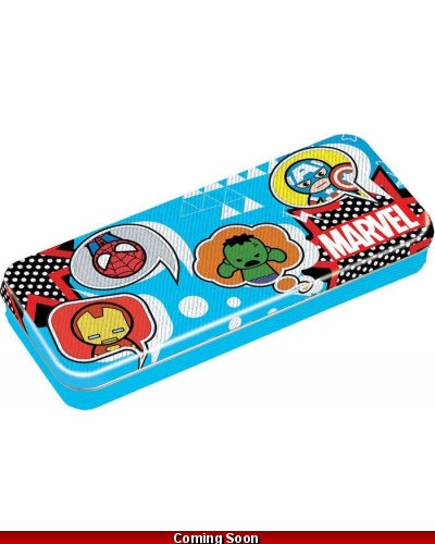 12 x Marvel Avengers Tin Pencil Cases