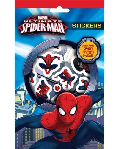 12 x Spider Man 700 Stickers