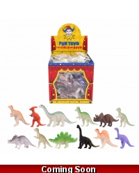 Image of 96 x Mini Dinosaurs 5cm