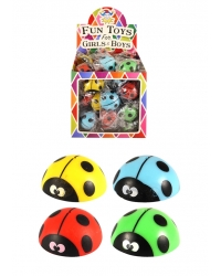 Image of 72 x Jumping Ladybird Dome Poppers