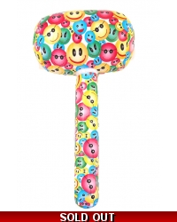 12 x Inflatable Smiley Face Mallets 66cm