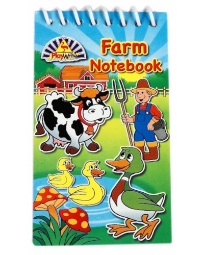 120 x Farm Animal Notebooks