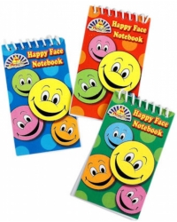 Image of 120 x Smiley Face Notebooks
