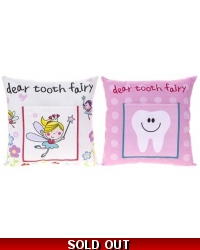 Image of 12 x Girls Tooth Fairy Cushions