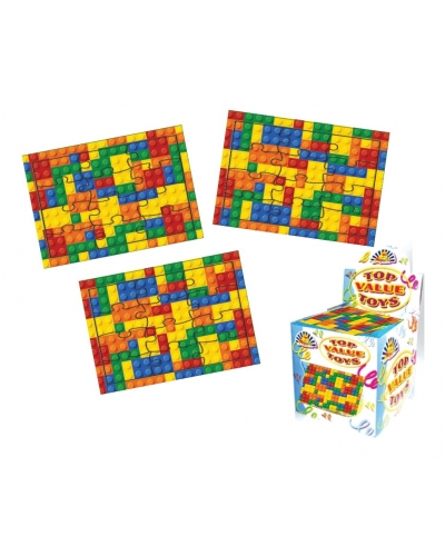 120 x Building Brick Jigsaws