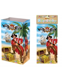 Image of 144 x Pirate Paper Party Bags