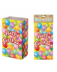 Image of 144 x Happy Birthday Paper Party Bags