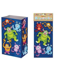 Image of 144 x Monster Paper Party Bags