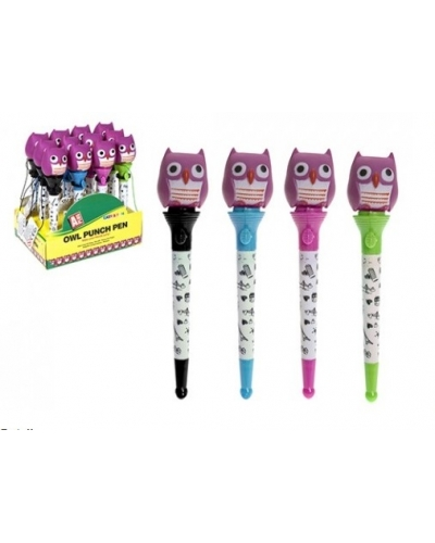 12 x Owl Punch Pens