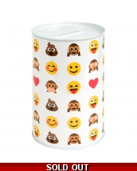 Image of 24 x Emoji Money Box Tins