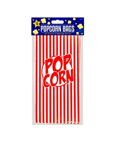 12 x Packs of Popcorn Bags 10pk