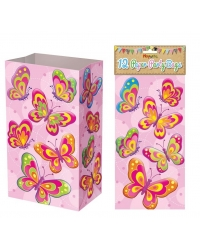Image of 144 x Butterfly Paper Party Bags
