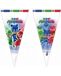 Image of 12 x Packs of 6 PJ Masks Sweet Cones