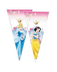 Image of 12 x Pk of 6 Disney Princess Sweet Cones
