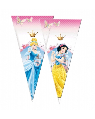 12 x Pk of 6 Disney Princess Sweet Cones