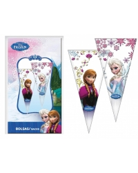 Image of 12 x Pk of 6 Disney Frozen Sweet Cones