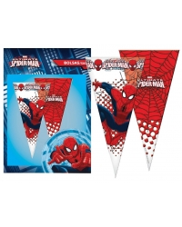 Image of 12 x Pk of 6 Spider-Man Sweet Cones