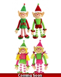 Image of 24 x Plush Christmas Elf