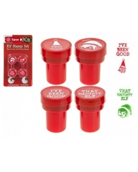 Image of 24 x Christmas Elf Stamper Sets 4 pk
