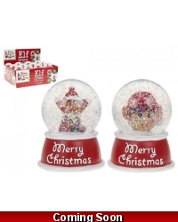 Image of 12 x Christmas Elf Snow Globe Water Balls