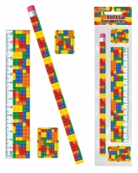 Image of 24 x Building Bricks Stationery Sets