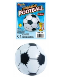 12 x Inflatable Footballs 35cm
