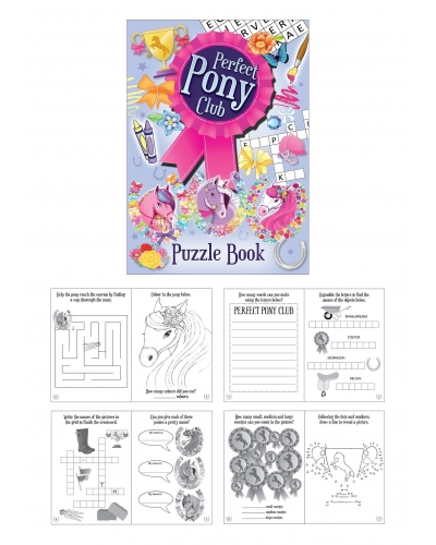 48 x Pony A6 Puzzle Books