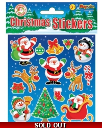 72 x Sheets of Christmas Stickers