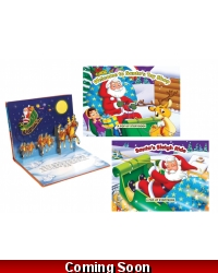 Image of Wrapped Grotto Toys - Christmas Pop Up Books x 12