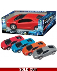Image of Wrapped Grotto Toys - Speed Racer Sports Cars x12