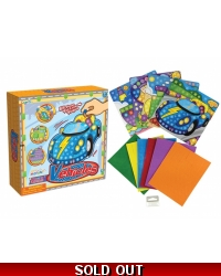 Image of Wrapped Grotto Toys - Vehicle Mosaic Art Sets x12